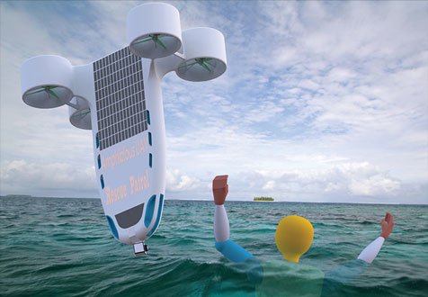 Lifeguard Drone Concept Elevated Solutions Aerial